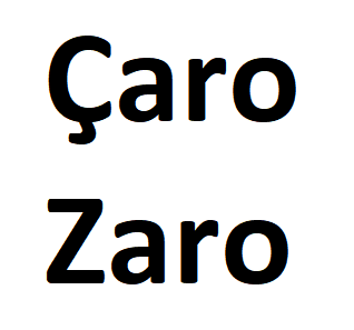 Adresses au format BAL - Çaro-logo