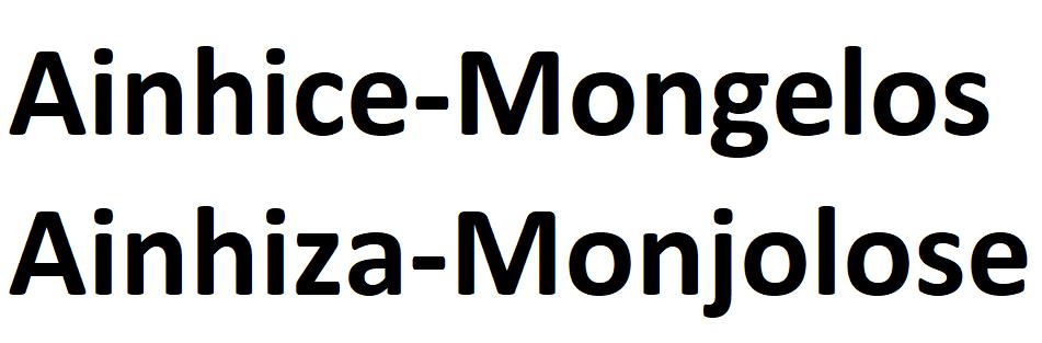 Ainhice-Mongelos