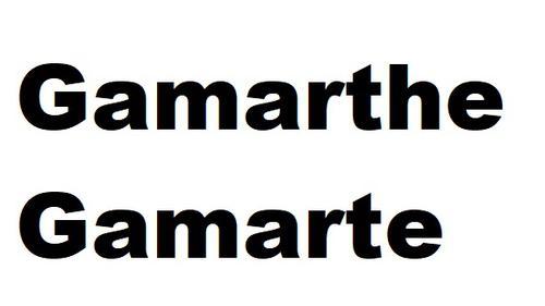 Gamarthe