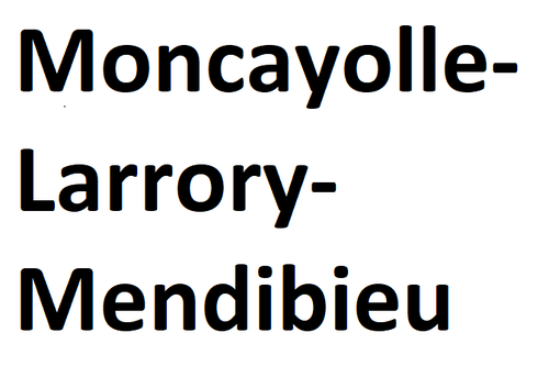 Moncayolle-Larrory-Mendibieu