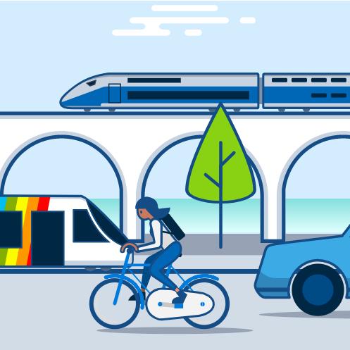 Vélos libre service VélÔToulouse : disponibilité en temps réel