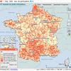 Cartographie nationale des résultats des élections régionales de 1998
