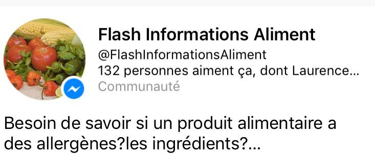 Flash Informations Aliments