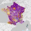 Cartes de France (régions, départements, communes) des listes en tête aux élections européennes