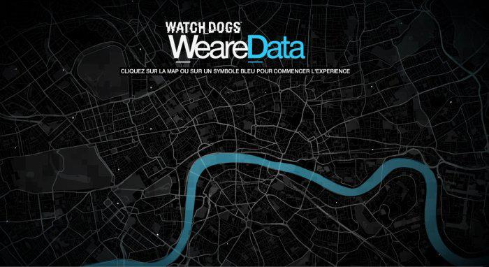 WatchDogs, la carte interactive de Paris