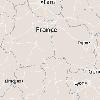 Localisation des sites de fouille archéologique de l'INRAP