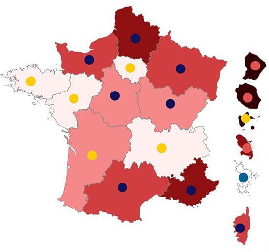En attendant l'élection présidentielle 2022 : retour en cartes sur la présidentielle 2017