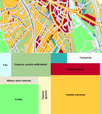 Evolumap'MOS - 30 ans d'évolution de l'occupation du sol en Île-de-France