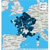 """Carte interactive des collèges """"tête de réseau"""" concernés par le réseau d'éducation prioritaire"""