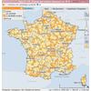 Cartographie des candidatures aux départementales 2015