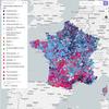 [Carte interactive] Liste arrivée en tête par commune au 1er tour des départementales de 2015