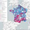 [Carte interactive] Liste arrivée en tête par commune au 2nd tour des départementales de 2015