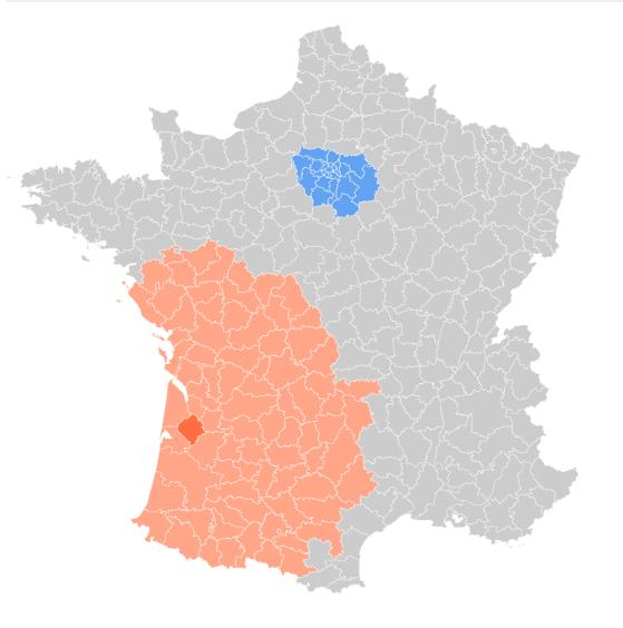 Densité de population : Comparaison interactive par arrondissements
