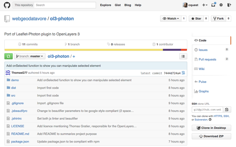 Plugin d'autocomplétion pour OpenLayers3