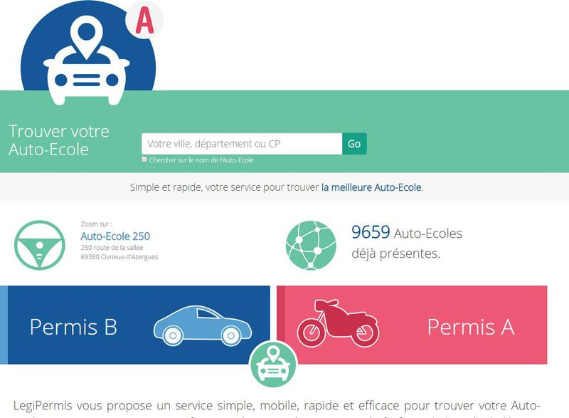 autoecole.legipermis.com : Comparer et trouver une auto-école