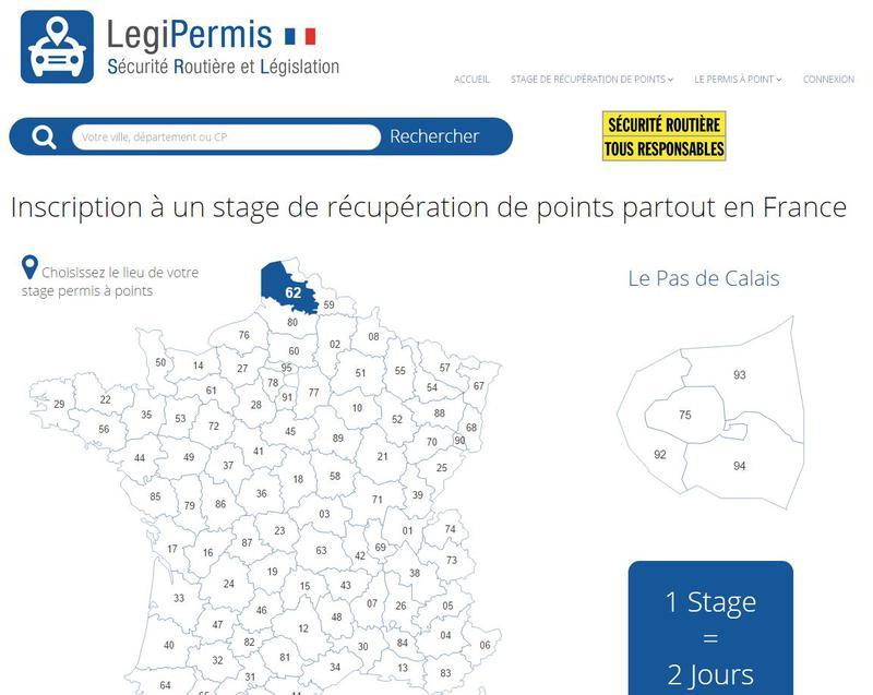 LegiPermis.com - Stages de sensibilisation à la sécurité routière