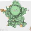 Cartogrammes de l'incidence du syndrome grippal