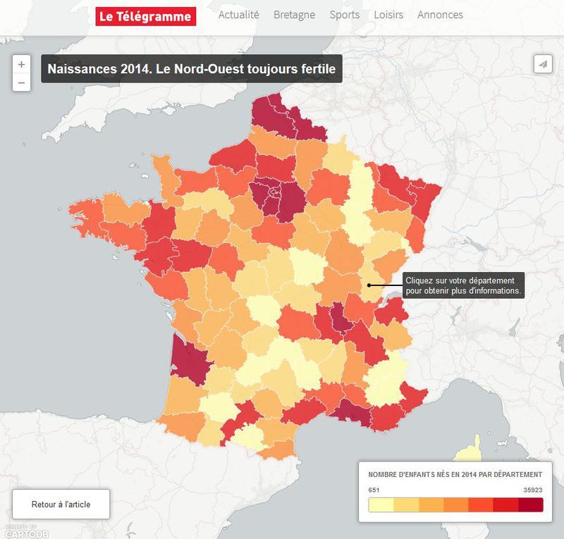Naissances 2014. Qui sont les 800.000 nouveaux bébés français ?