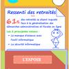 Infographie : Les retraités face à l'e-administration