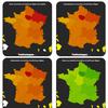 Evolution du coronavirus (covid19) par région (données hospitalières)