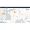 CoVid-19 - Cartographie et Courbes sur les données nationales de Santé Publique France