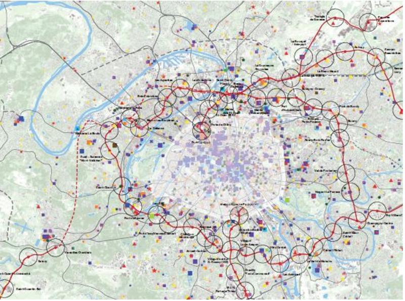 Ou sont les 270 lieux culturel du Grand Paris