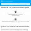 Retrouvez gratuitement le numéro de TVA intracommunautaire d'une société