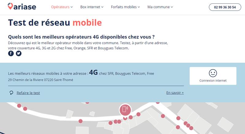 Test des réseaux mobiles