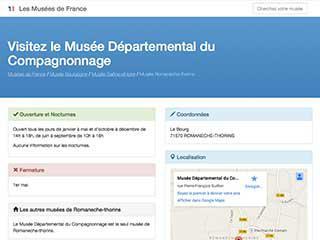 Tous les musées de France