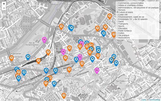 Leaflet Maps - Création d'une carte interactive (L.control)