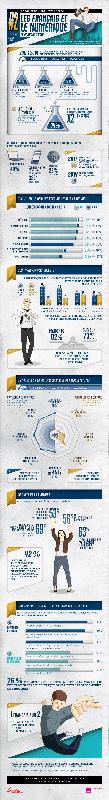 Infographie : Les Français et le numérique