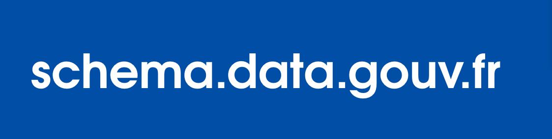 Nouvelles fonctionnalités relatives aux schémas de données sur data.gouv.fr