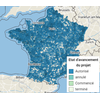 Carte des permis de démolir en France - Sitadel