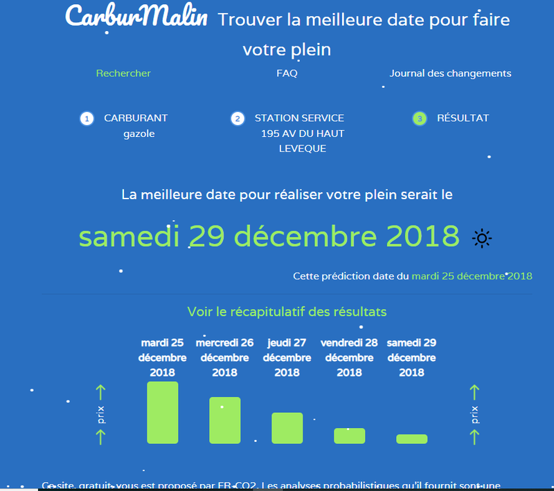 Prix des carburants en France - data gouv fr
