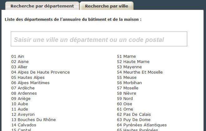 Les agences immobilières de France