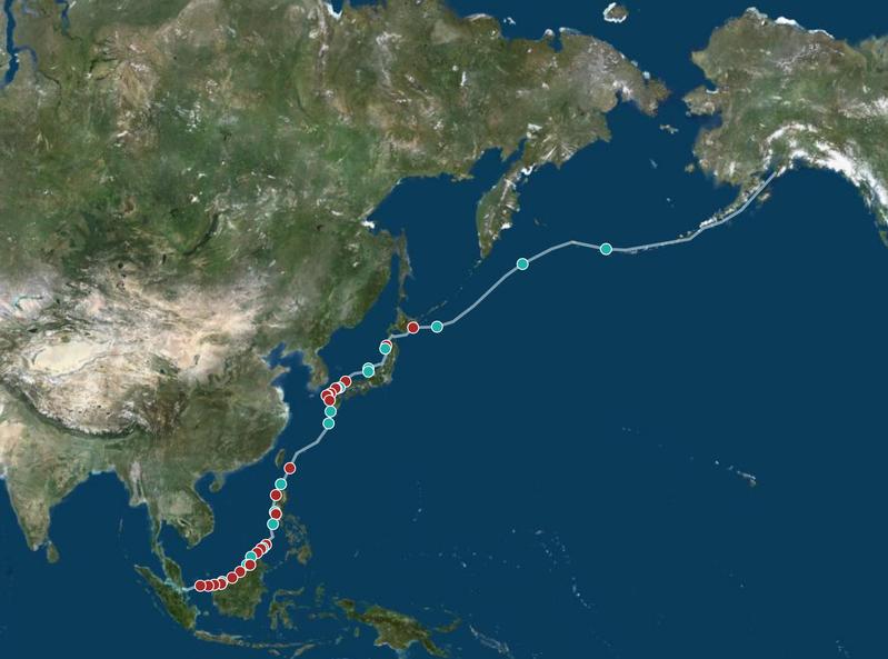 Carte expédition Julo