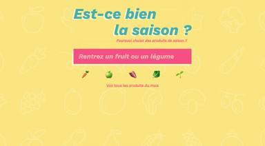 Mes Fruits & Légumes de Saison - Votre moteur de recherche pour retrouver les fruits & légumes du mois