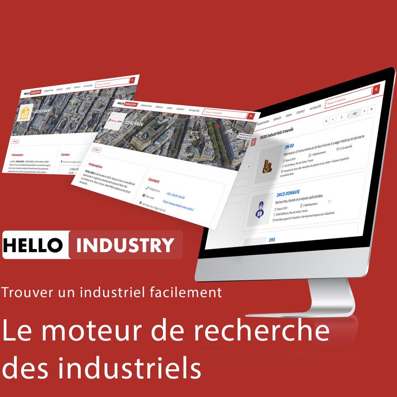 Hello Industry - Le moteur de recherche de l'industrie