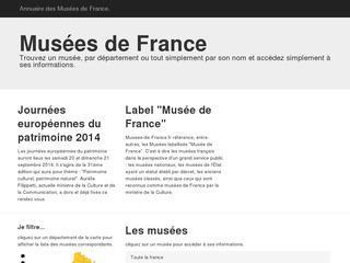 Annuaire des musées de France