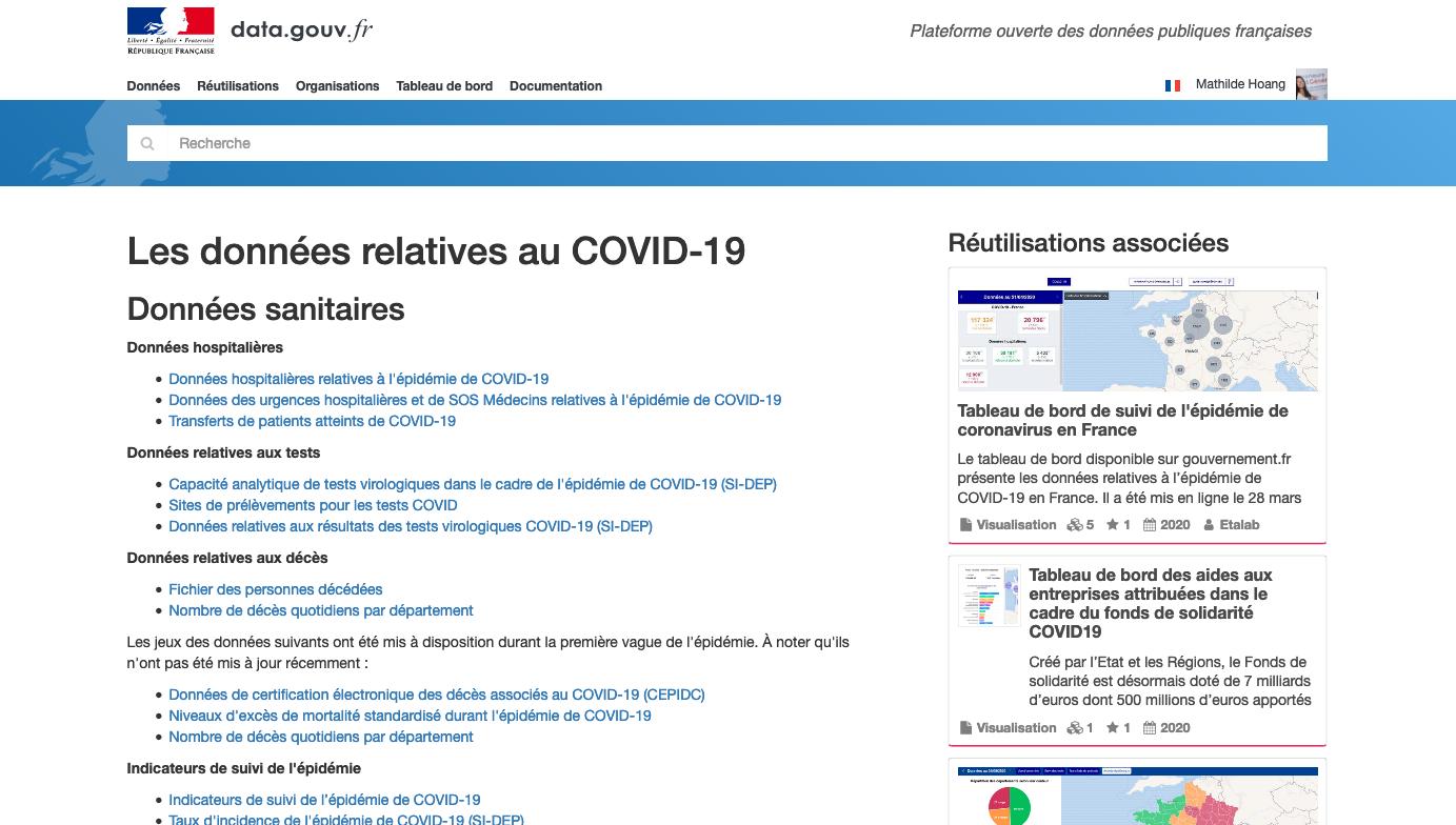 Les nouveautés data.gouv.fr de l'été 2020