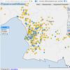 cartographie des écoles élémentaires par nature et par secteur