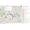 Carte des événements du sommet PGO 2016