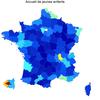 Cartographie des activités par départements