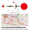 Le vélo : les accidents à Champigny-Sur-Marne