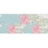 Taux d'incidence, de dépistage et de positivité COVID par EPCI sur une semaine glissante en France Métropolitaine