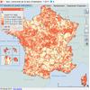 Cartographie des taux d'imposition de la taxe d'habitation