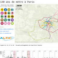 130 ans de métro à Paris