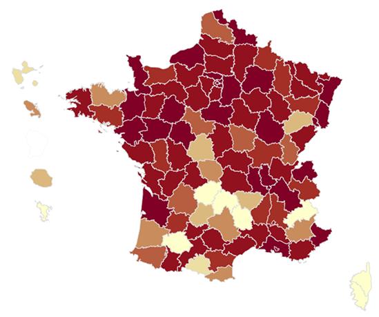 Des atlas dédiés au phénomène abstentionniste lors du scrutin municipal 2020