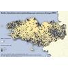 Nombre d'installations solaires photovoltaique par commune en bretagne (2014)