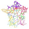Réseau de transport routier national métropolitain
